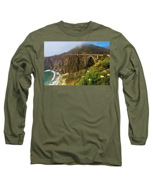 Bixby Bridge Big Sur Long Sleeve T-Shirt