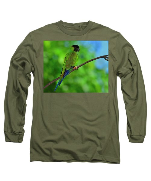 Long Sleeve T-Shirt featuring the photograph Black And Blue by Tony Beck