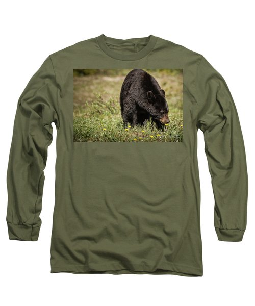 Black Bear Long Sleeve T-Shirt