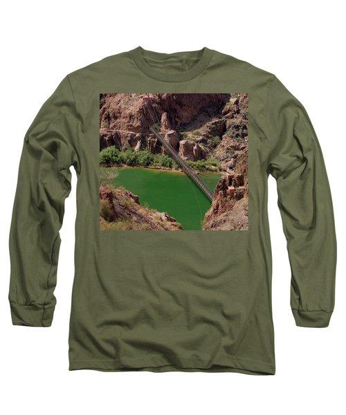 Black Bridge, Grand Canyon  Long Sleeve T-Shirt