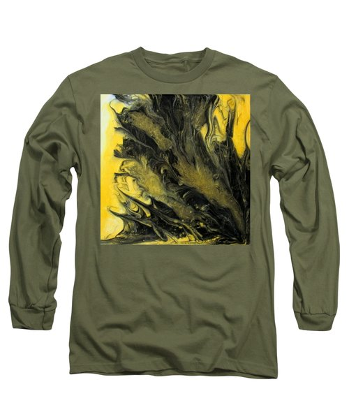 Black Dahlia Long Sleeve T-Shirt by Mary Kay Holladay