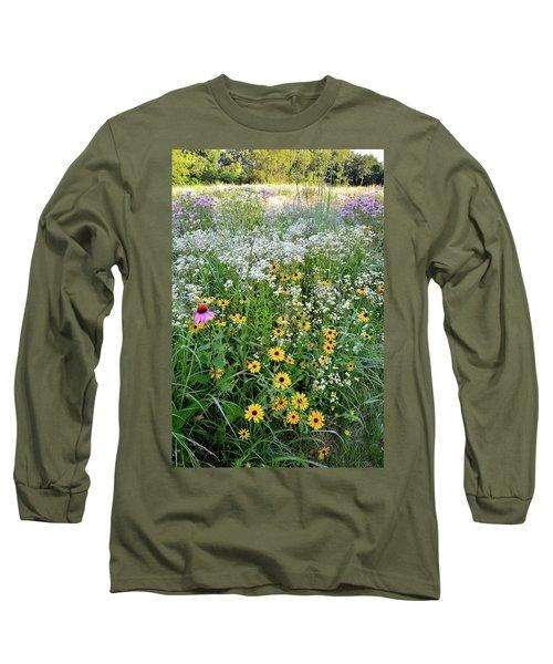 Black Eyed Susans And Company Long Sleeve T-Shirt