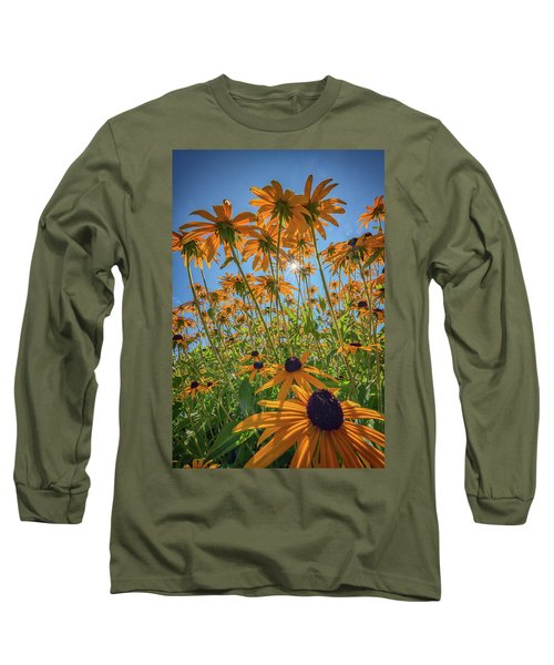 Black-eyed-susans Bask In The Sun Long Sleeve T-Shirt