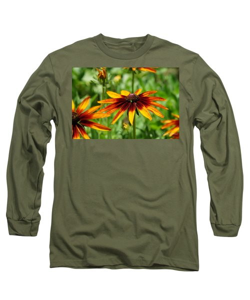 Black-eyed Susans Long Sleeve T-Shirt