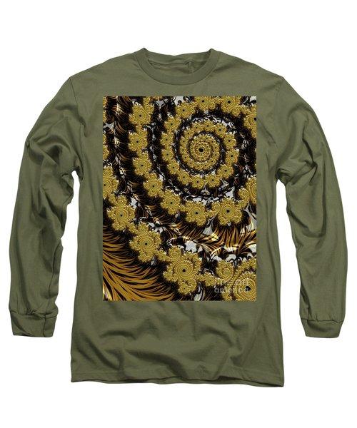 Black Gold Long Sleeve T-Shirt