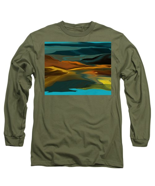 Black Hills Abstract Long Sleeve T-Shirt