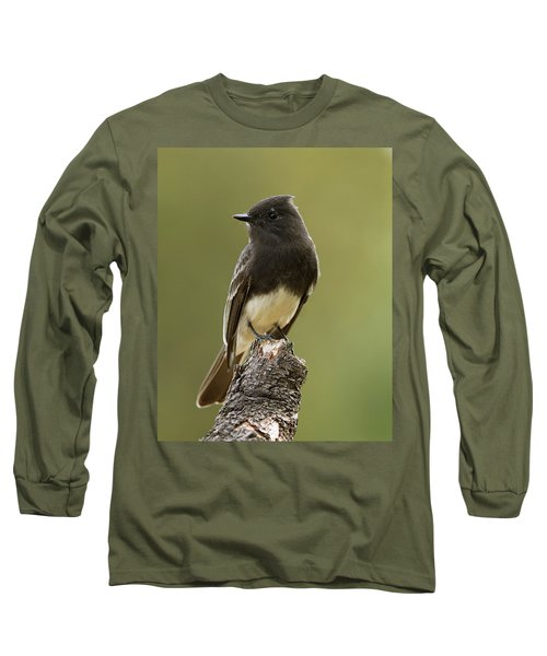 Black Phoebe Long Sleeve T-Shirt