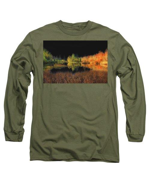 Black Sky Long Sleeve T-Shirt