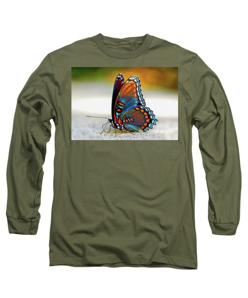 Black Swallowtail Butterfly 003 Long Sleeve T-Shirt
