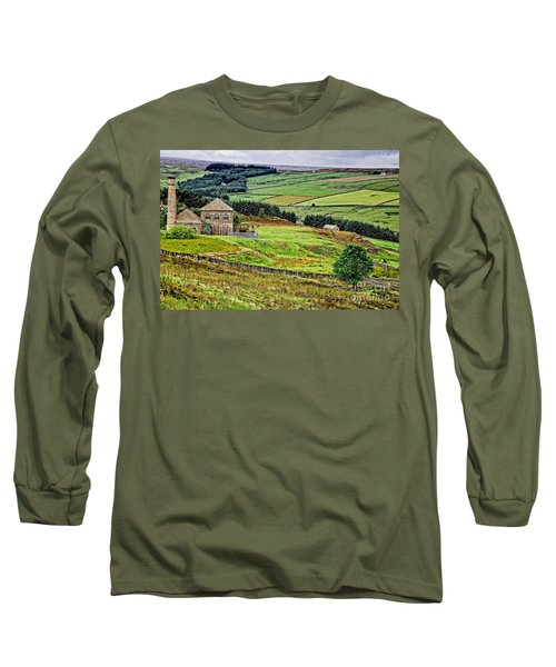 Blanchland Moor Pumphouse Long Sleeve T-Shirt
