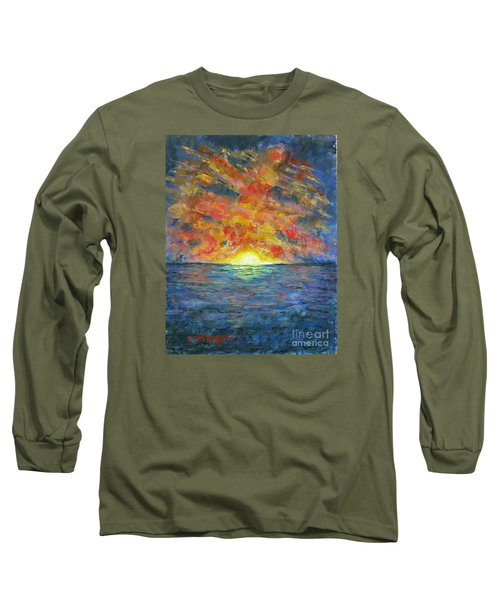 Blazing Glory Long Sleeve T-Shirt by Laurie Morgan