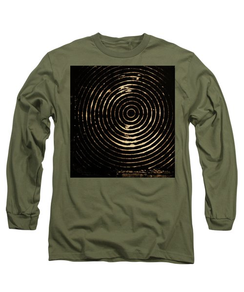 Bleached Circles Long Sleeve T-Shirt by Cynthia Powell
