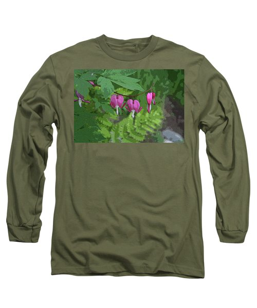 Bleeding Hearts 2 Long Sleeve T-Shirt