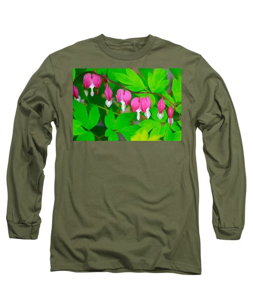 Bleeding Hearts Long Sleeve T-Shirt