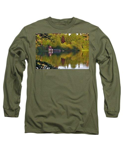 Blenheim Palace Boathouse 2 Long Sleeve T-Shirt