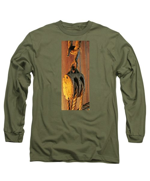 Block And Tackle Long Sleeve T-Shirt