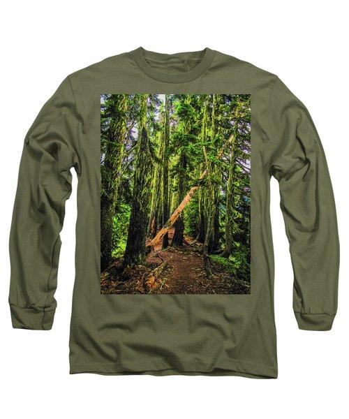 Blocked Trail Long Sleeve T-Shirt