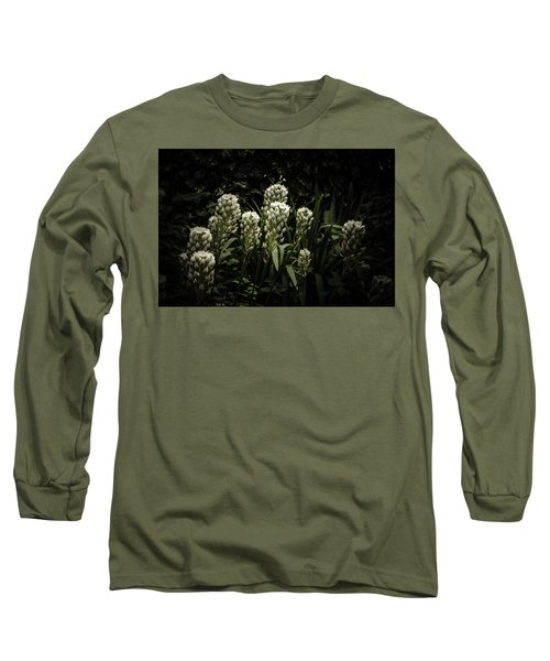 Long Sleeve T-Shirt featuring the photograph Blooming In The Shadows by Marco Oliveira