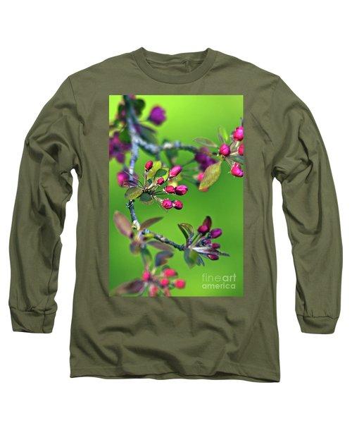 Blooming Spring Poetry Long Sleeve T-Shirt