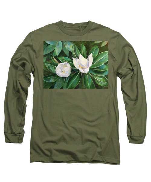 Blossoms In The Sunlight Long Sleeve T-Shirt
