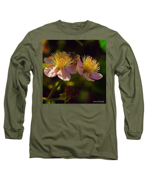 Blossoms.1 Long Sleeve T-Shirt by Steve Warnstaff