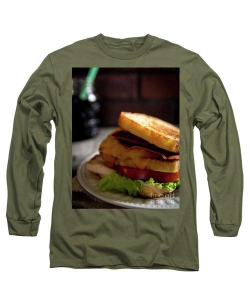 Long Sleeve T-Shirt featuring the photograph Blt Special by Deborah Klubertanz