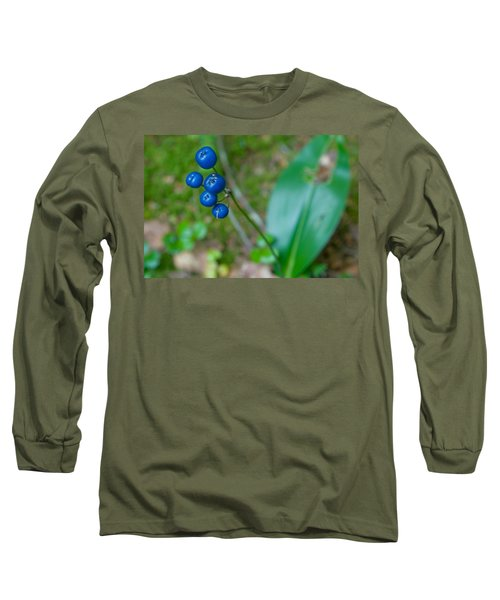 Blue Berries Long Sleeve T-Shirt