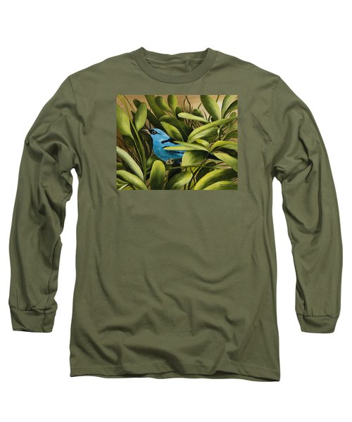 Blue Bird In Branson Long Sleeve T-Shirt