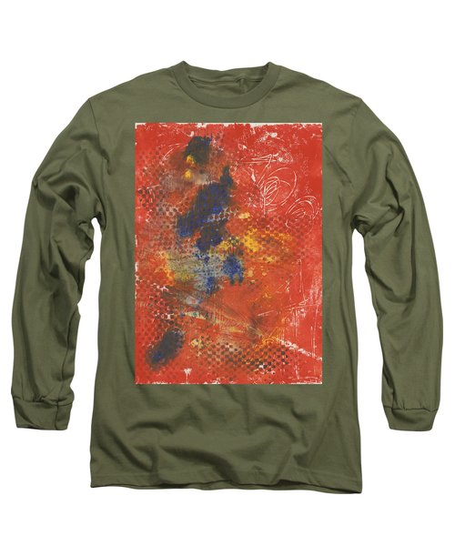 Blue Dancer Long Sleeve T-Shirt