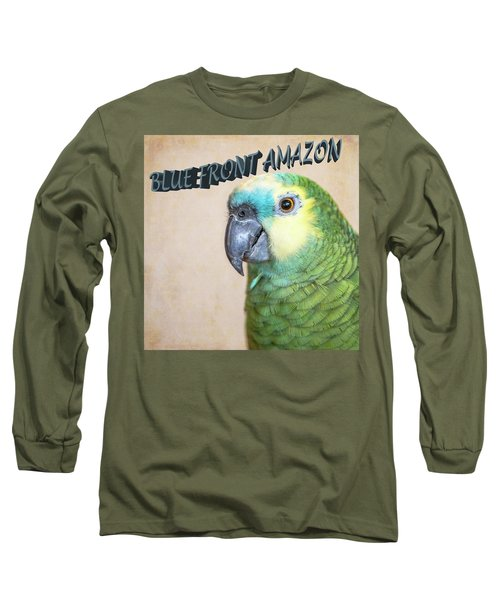 Blue Front Amazon Long Sleeve T-Shirt