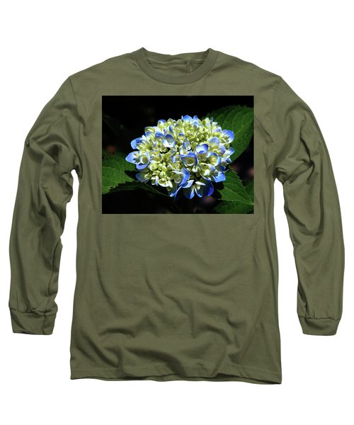 Blue Hydrangea Onstage 2620 H_2 Long Sleeve T-Shirt