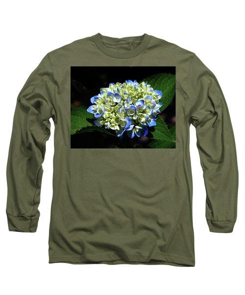 Blue Hydrangea Onstage 2620 H_2 Long Sleeve T-Shirt