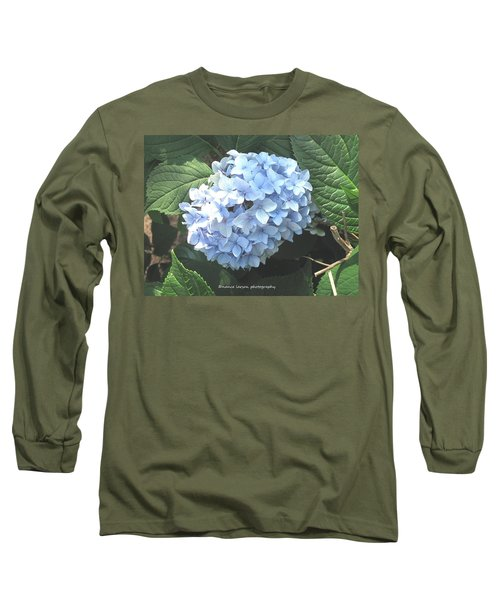 Blue Hydrangnea Long Sleeve T-Shirt