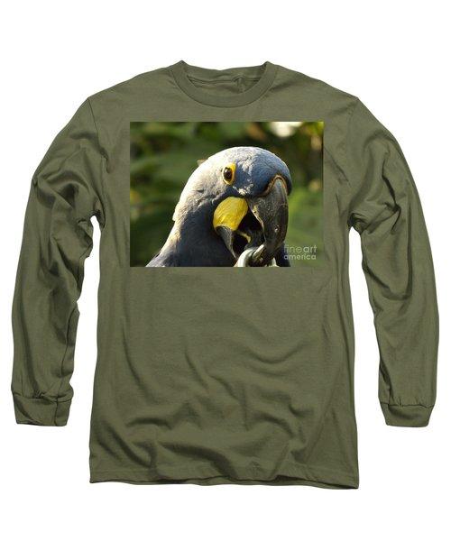 Blue Parrot Long Sleeve T-Shirt