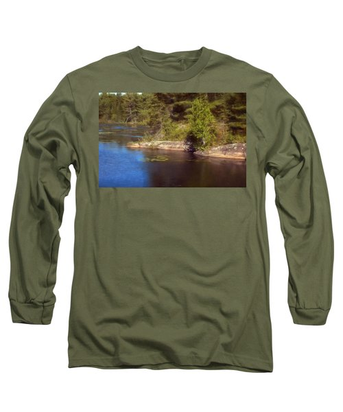 Blue Pond Marsh Long Sleeve T-Shirt