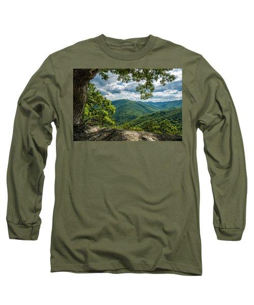 Blue Ridge Mountain View Long Sleeve T-Shirt