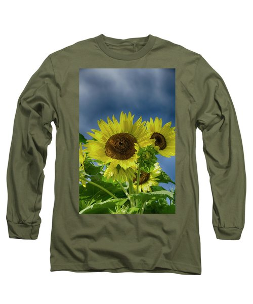 Blue Sky Day Long Sleeve T-Shirt