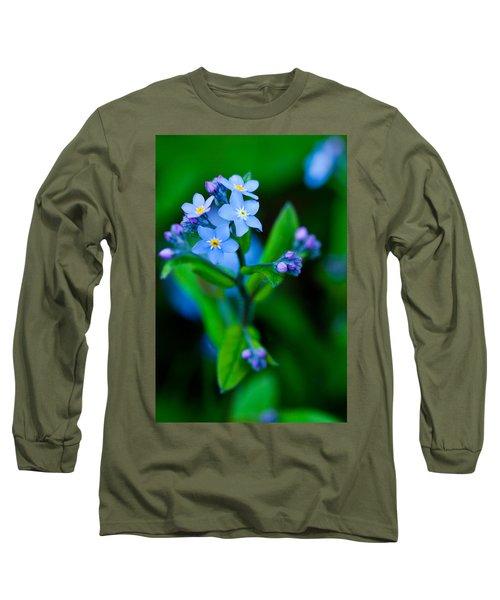 Blue Topper Long Sleeve T-Shirt