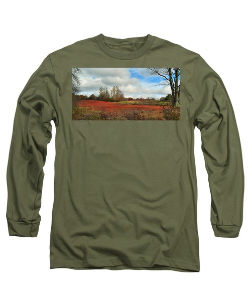 Blueberry Fields Long Sleeve T-Shirt