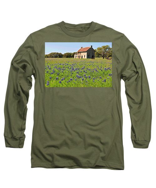 Bluebonnet Field Long Sleeve T-Shirt