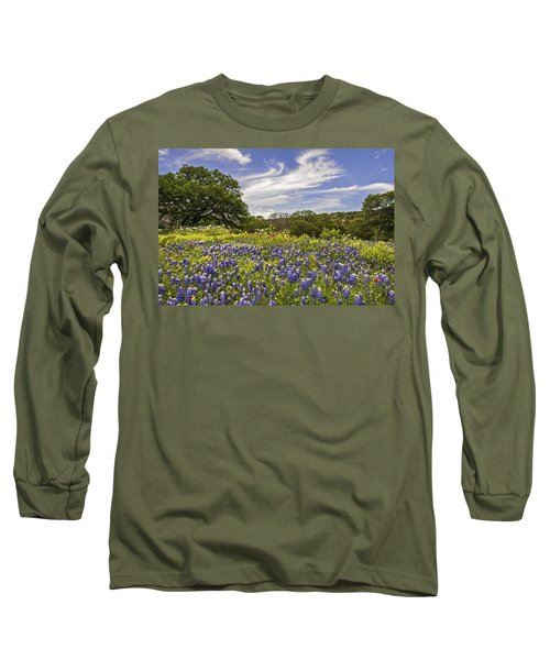 Bluebonnet Spring Long Sleeve T-Shirt