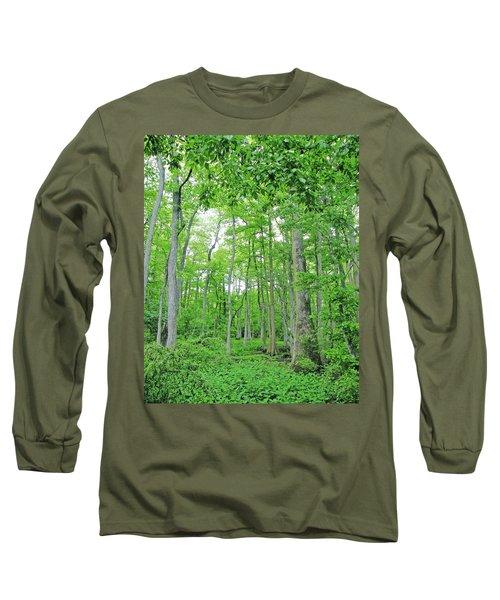 Blueboonet Swamp Baton Rouge La Long Sleeve T-Shirt