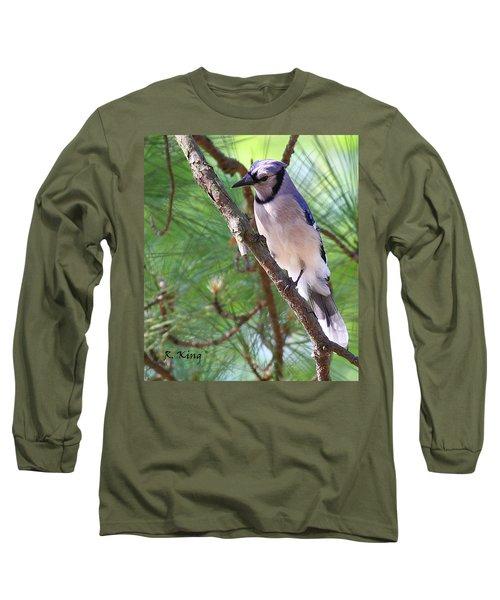 Bluejay Long Sleeve T-Shirt