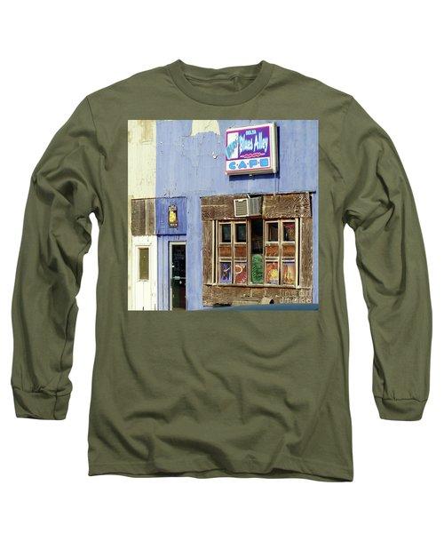 Blues Alley, Clarksdale Long Sleeve T-Shirt