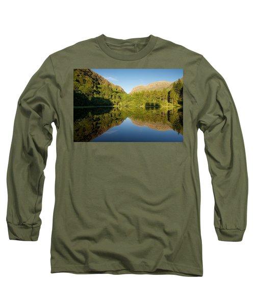 Blues Skies In Glencoe Long Sleeve T-Shirt