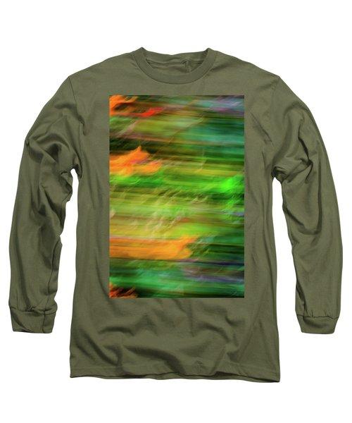 Blurred #11 Long Sleeve T-Shirt