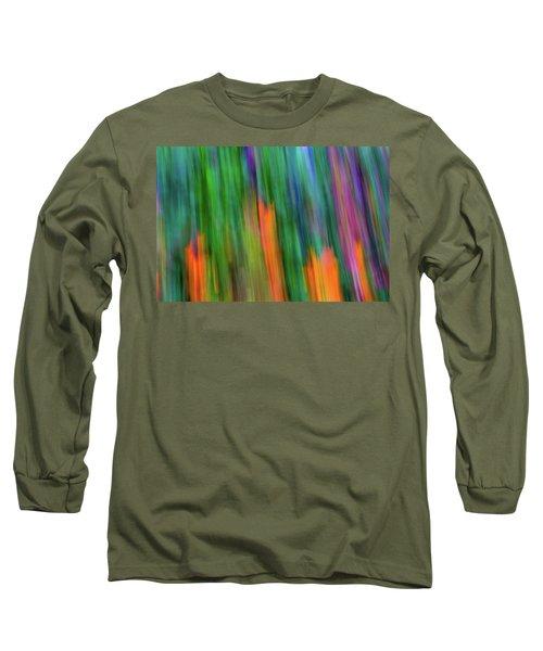 Blurred #2 Long Sleeve T-Shirt