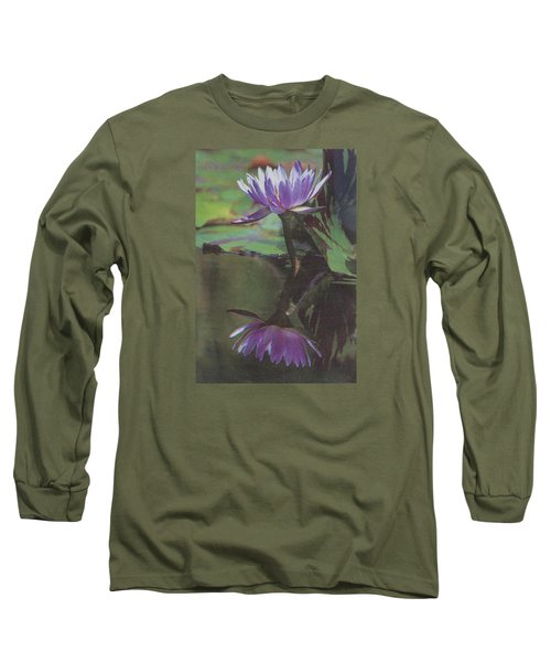Blush Of Purple Long Sleeve T-Shirt by Suzanne Gaff