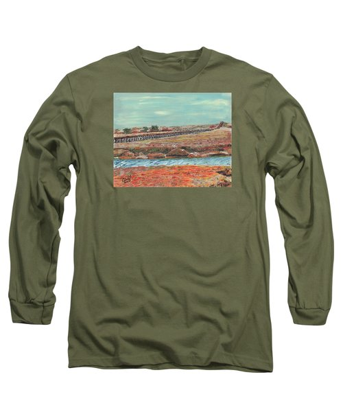 Boardwalk At Sandwich Ma Long Sleeve T-Shirt