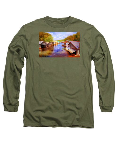 Boat Houses Long Sleeve T-Shirt